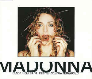 DROWNED WORLD  CD MAXI EUROPE  MADONNA-CD-DISQUES-RECORDS-BOUTIQUE VINYLES-SHOP-COLLECTORS-STORE