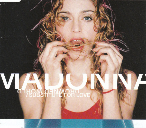 DROWNED WORLD  CD SINGLE EUROPE SAMPLER  MADONNA-CD-DISQUES-BOUTIQUE VINYLES-SHOP-COLLECTORS-STORE
