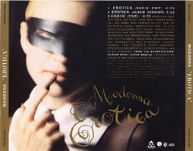 EROTICA CD SAMPLER USA   MADONNA-CD-DISQUES-BOUTIQUE VINYLES-SHOP-COLLECTORS-STORE