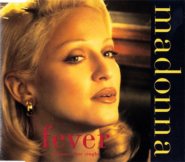 FEVER CD MAXI EUROPE /  MADONNA-CD-DISQUES-RECORDS-BOUTIQUE VINYLES-SHOP-COLLECTORS