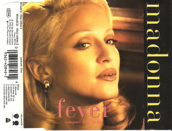 FEVER  CD MAXI  UK   /MADONNA-CD-DISQUES-RECORDS-BOUTIQUE VINYLES- SHOP-COLLECTORS