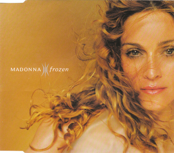 FROZEN CD SAMPLER ALLEMAGNE /  MADONNA-CD-DISQUES-RECORDS-BOUTIQUE VINYLES-SHOP-COLLECTORS