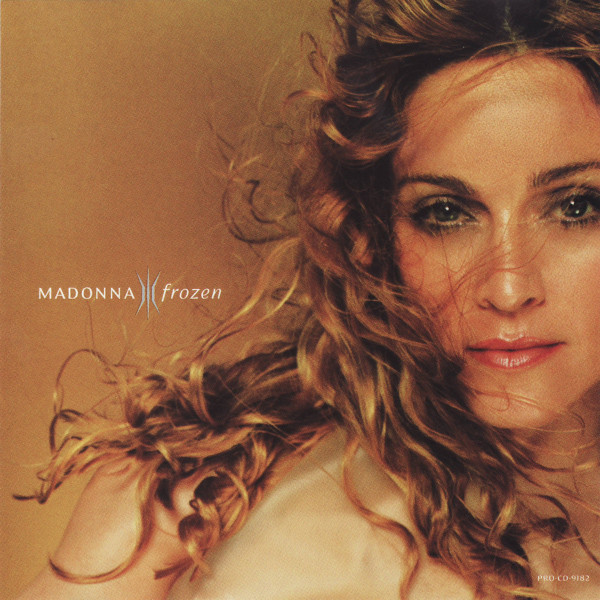 FROZEN CD SAMPLER USA /  MADONNA-CD-DISQUES-RECORDS-BOUTIQUE VINYLES-SHOP-COLLECTORS