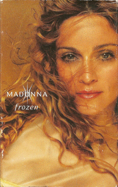 FROZEN CASSETTE USA /   MADONNA-CD-DISQUES-RECORDS -BOUTIQUE VINYLES-SHOP-COLLECTORS