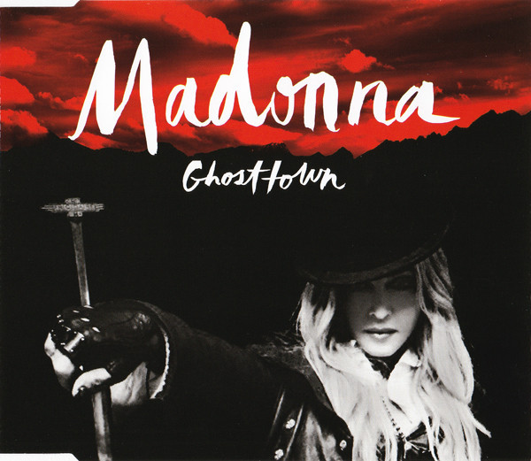GHOSTTOWN CD SINGLE EUROPE /  MADONNA-CD-DISQUES-RECORDS-BOUTIQUE VINYLES-SHOP-COLLECTORS