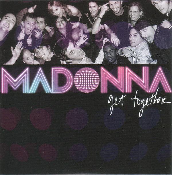 GET TOGETHER CD SINGLE  FRANCE  scelle/  MADONNA-CD-DISQUES-RECORDS-BOUTIQUE VINYLES-SHOP-COLLECTORS