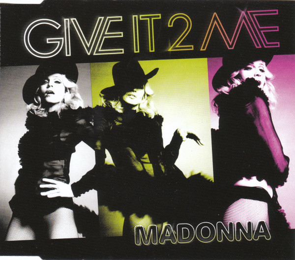 GIVE IT 2 ME CD SAMPLER MEXIQUE  MADONNA-CD-DISQUES-RECORDS-BOUTIQUE VINYLES-SHOP-COLLECTORS