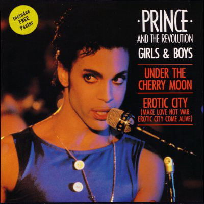 GIRLS AND BOYS MAXI 45T EUROPE / PRINCE-CD-DISQUES-RECORDS-BOUTIQUE VINYLES-RECORDS