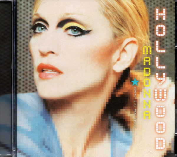HOLLYWOOD CD MAXI  THAILANDE /   MADONNA-CD-DISQUES-RECORDS-BOUTIQUE VINYLES-SHOP-COLLECTORS