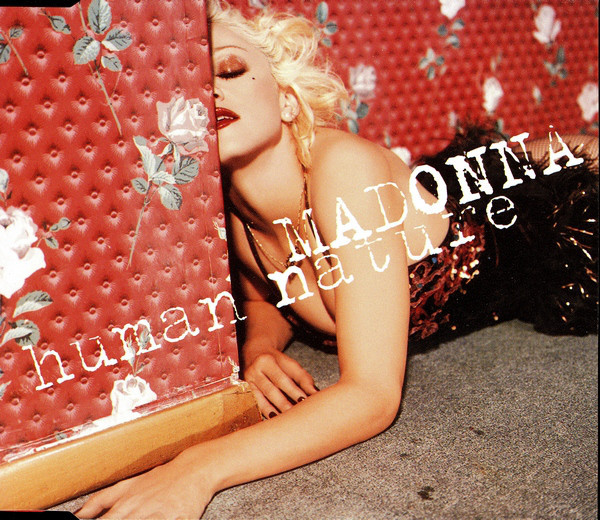 HUMAN NATURE CD SINGLE EUROPE   MADONNA-CD-DISQUES-RECORDS-BOUTIQUE VINYLES-SHOP-COLLECTORS