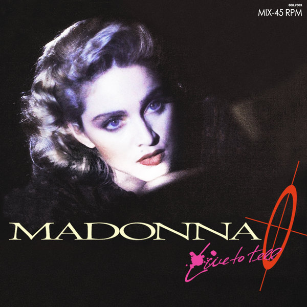 LIVE TO TELL MAXI 45T  SAMPLER BRESIL MADONNA-CD-DISQUES-RECORDS-BOUTIQUE VINYLES-SHOP-COLLECTORS