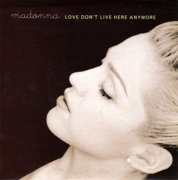 LOVE DON'T LIVE HERE CD SINGLE  EUROPE  / MADONNA -CD-DISQUES- RECORDS-BOUTIQUE VINYLES-SHOP-