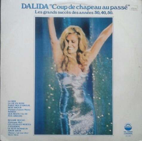 COUP DE CHAPEAU 33T BRESIL /  DALIDA-CD-DISQUES-RECORDS-BOUTIQUE VINYLES-RECORDS