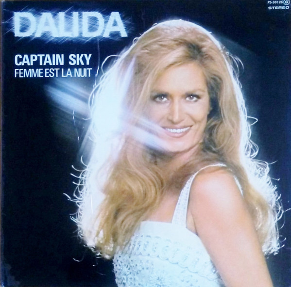 CAPTAIN SKY LP SPAIN / DALIDA-CD-RECORDS-BOUTIQUE- VINYLS-COLLECTORS-DISQUES