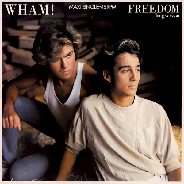 FREEDOM  MAXI 45T EUROPE / GEORGE MICHAEL-WHAM-CD-DISQUES-RECORDS-BOUTIQUE VINYLES-SHOP-