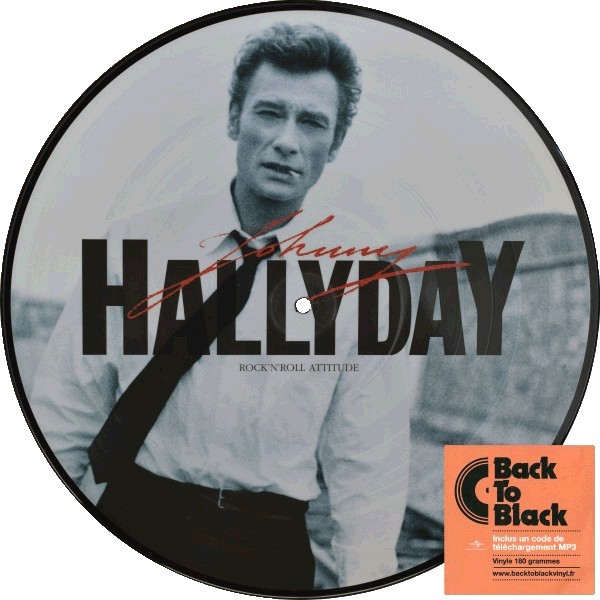 ROCK N ROLL ATTITUDE   33T  FRANCE / JOHNNY HALLYDAY-CD-DISQUES-RECORDS-BOUTIQUE VINYLES-RECORDS