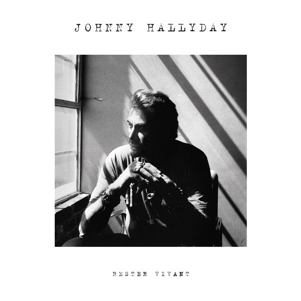 RESTER VIVANT   33T  FRANCE / JOHNNY HALLYDAY-CD-DISQUES-RECORDS-BOUTIQUE VINYLES-RECORDS