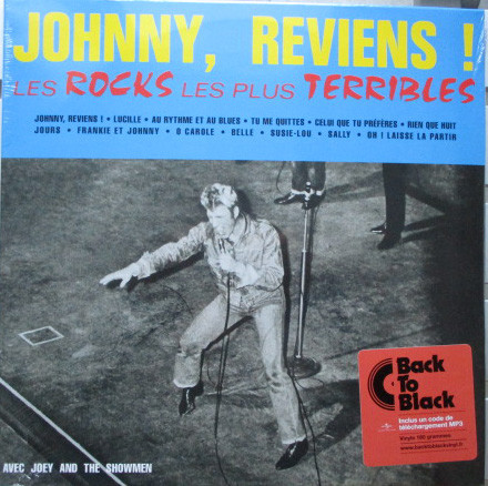 LES ROCKS LES PLUS TERRIBLES 33T  FRANCE JOHNNY HALLYDAY-CD-DISQUES-RECORDS-BOUTIQUE VINYLES-RECORDS