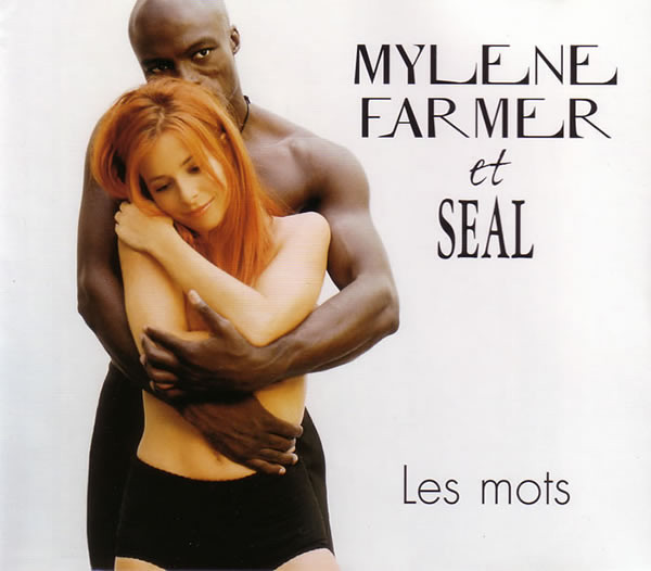 LES MOTS CD  MAXI CANADA SCELLE /   MYLENE FARMER - RECORDS - DISQUES - VINYLES - SHOP- BOUTIQUE