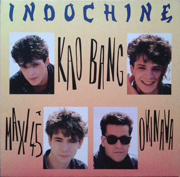 KAO BANG  MAXI 45T SUEDE  INDOCHINE-CD-DISQUES-RECORDS-BOUTIQUE VINYLES-RECORDS