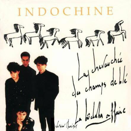 LA CHEVAUCHEE  MAXI 45T  FRANCE  INDOCHINE-CD-DISQUES-RECORDS-BOUTIQUE VINYLES-RECORDS