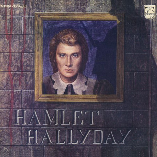 HAMLET 33T  FRANCE JOHNNY HALLYDAY-CD-DISQUES-RECORDS-BOUTIQUE VINYLES-RECORDS