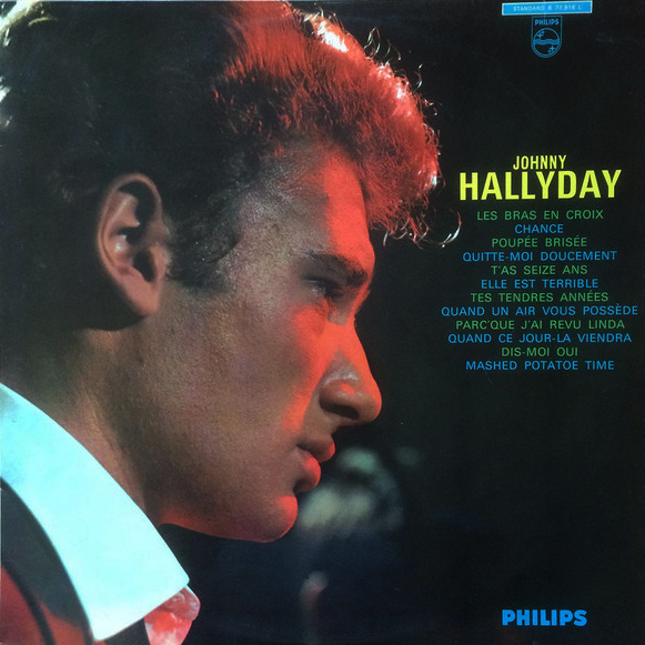 LES BRAS EN CROIX MONO 33T  FRANCE JOHNNY HALLYDAY-CD-DISQUES-RECORDS-BOUTIQUE VINYLES-RECORDS