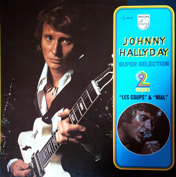 LES COUPS  33T  FRANCE JOHNNY HALLYDAY-CD-DISQUES-RECORDS-BOUTIQUE VINYLES-RECORDS