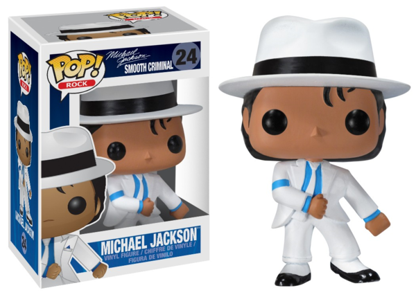 SMOOTH CRIMINAL FUNKO POP  / MICHAEL JACKSON-CD-DISQUES-RECORDS-VINYLES-STORE-BOUTIQUE