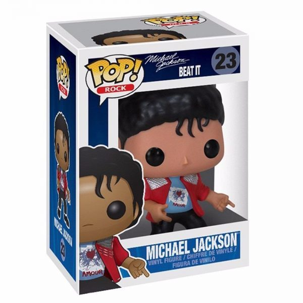 BEAT IT  FUNKO POP  / MICHAEL JACKSON-CD-DISQUES-RECORDS-VINYLES-STORE-BOUTIQUE