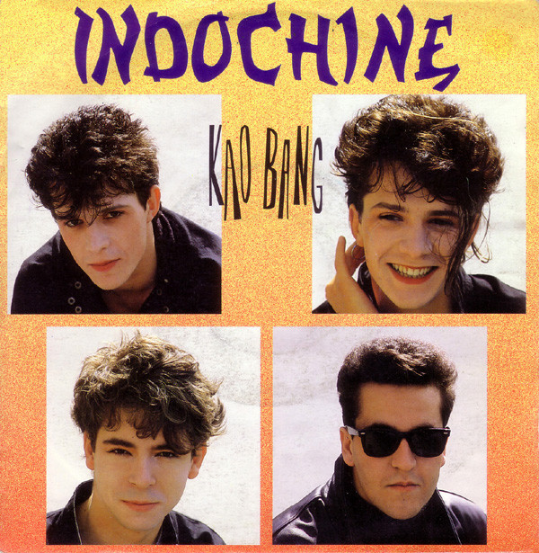 KAO BANG 45T ALLEMAGNE  INDOCHINE-CD-DISQUES-RECORDS-BOUTIQUE VINYLES-RECORDS