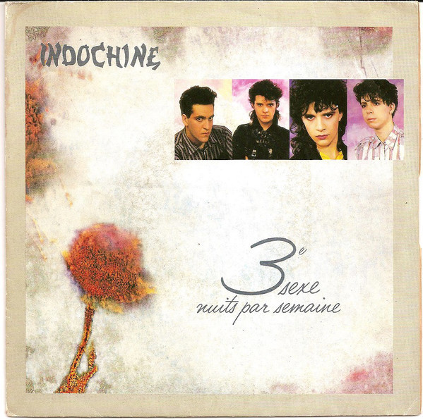 3 EME SEXE  GERMANY / INDOCHINE-CD-DISQUES-RECORDS-VINYLS-MUSICSHOP-COLLECTORS