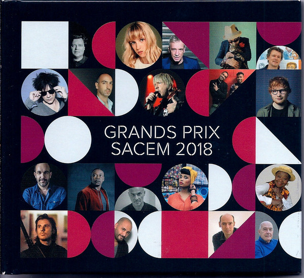 GRANDS PRIX SACEM   2018 CD SAMPLER  INDOCHINE-CD-DISQUES-RECORDS-BOUTIQUE VINYLES-RECORDS