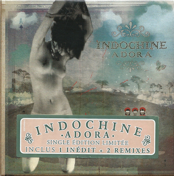 ADORA CD SINGLE SCELLE   / INDOCHINE-CD-DISQUES-RECORDS-VINYLS-MUSICSHOP-COLLECTORS