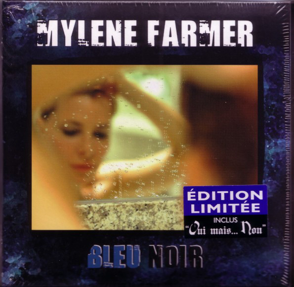 BLEU NOIR CD DIGIPACK SCELLE  / MYLENE FARMER-RECORDS-DISQUES-VINYLES-CD- SHOP-