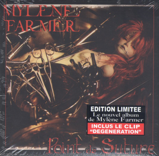 POINT DE SUTURECD DIGIPACK SCELLE / MYLENE FARMER-RECORDS-DISQUES-VINYLES-CD- SHOP-