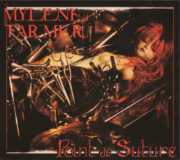 POINT DE SUTURE CD DIGIPACK UKRAINE SCELLE  / MYLENE FARMER-RECORDS-DISQUES-VINYLES-CD- SHOP-