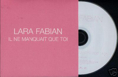 IL NE  MANQUAIT CD SAMPLER LARA FABIAN-BOUTIQUE-VINYLES-DISQUES-RECORDS-DISQUES-VINYLES-CD- SHOP-