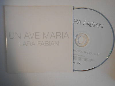 UN AVE MARIA  CD SAMPLER LARA FABIAN-BOUTIQUE-VINYLES-DISQUES-RECORDS-DISQUES-VINYLES-CD- SHOP-