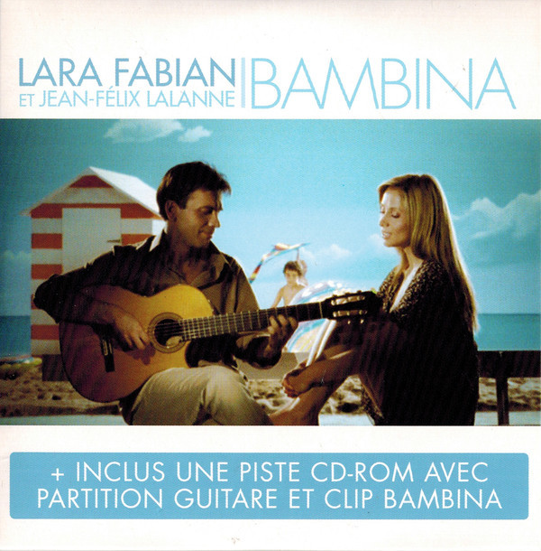 BAMBINA CD SINGLE SCELLE  LARA FABIAN-BOUTIQUE-VINYLES-DISQUES-RECORDS-DISQUES-VINYLES-CD- SHOP-