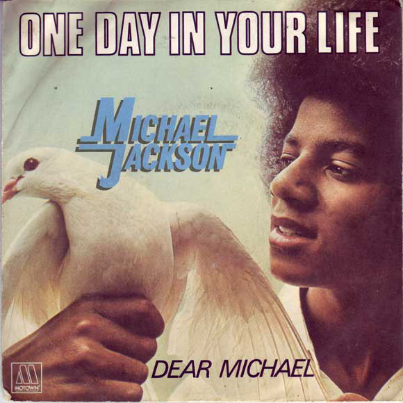 ONE DAY IN YOUR LIFE 45T FRANCE MICHAEL JACKSON-CD-DISQUES-RECORDS-VINYLES-STORE-BOUTIQUE