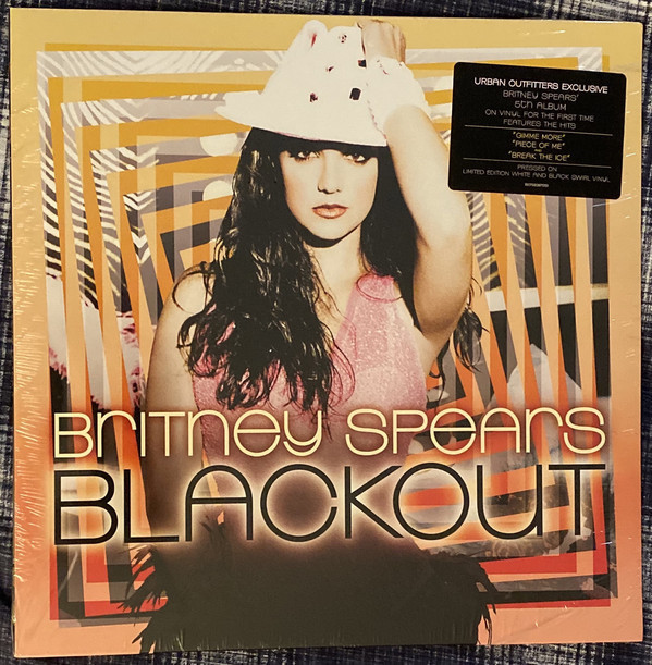 BLACKOUT  LP USA GRIS BRITNEY SPEARS-CD-DISQUES-BOUTIQUE VINYLES-SHOP-COLLECTORS-STORE