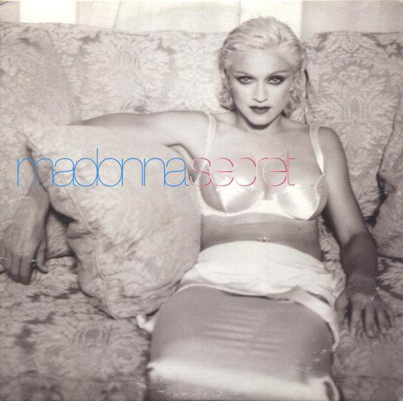 SECRET CD SINGLE FRANCE  MADONNA-CD-DISQUES-RECORDS-BOUTIQUE VINYLES-SHOP-STORE-LPS-VINYLS