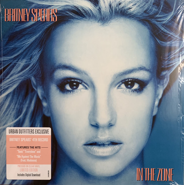 IN THE ZONE 33T USA  CLEAR / BRITNEY SPEARS-CD-DISQUES-BOUTIQUE VINYLES-SHOP-COLLECTORS-STORE