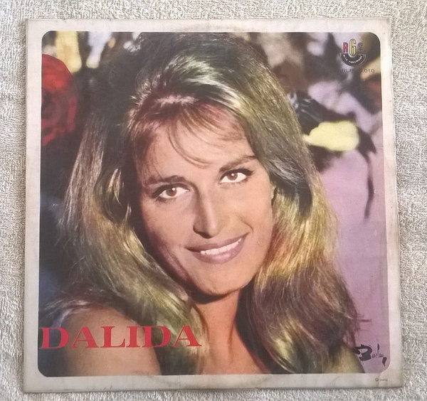 DALIDA 33T SAMPLER BRESIL /  DALIDA-CD-DISQUES-RECORDS-BOUTIQUE VINYLES-RECORDS