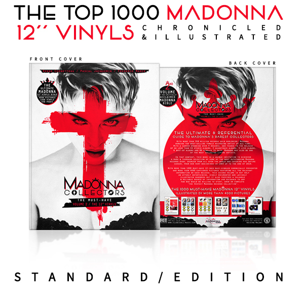 THE COLLECTORS BOOK VOL 2 + poster MADONNA-CD-DISQUES-RECORDS-BOUTIQUE VINYLES-SHOP-STORE-LPS-VINYLS