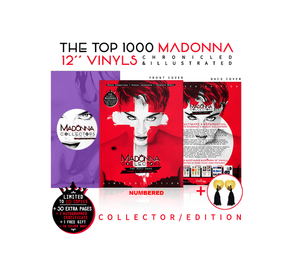 THE COLLECTORS BOOK VOL 2 EDITION PROMO 10 EX MADONNA-DISQUES-RECORDS-BOUTIQUE-SHOP-STORE-VINYLS