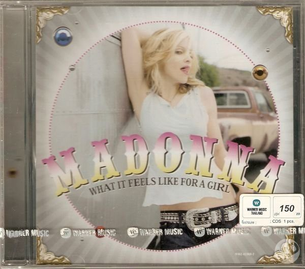 WHAT IT FEELS  CD MAXI THAILANDE MADONNA-CD-DISQUES-BOUTIQUE VINYLES-SHOP-STORE-LPS-VINYLS