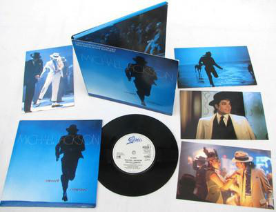 SMOOTH CRIMINAL 7 INCHES I UK LIMITED  / MICHAEL JACKSON-CD-RECORD-VINYLS-SHOP-STORE-LPS-COLLECTORS