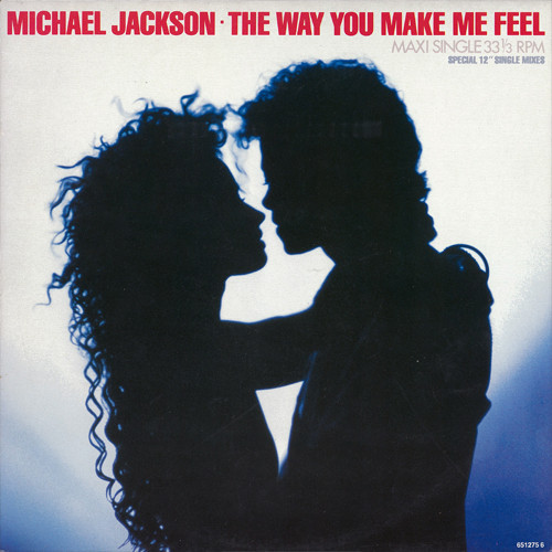 THE WAY YOU MAKE ME FEEL  MAXI 45T  EUROPE / MICHAEL JACKSON-CD-DISQUES-RECORDS-VINYLES-BOUTIQUE-